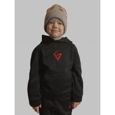 Худі Унісекс GANK KIDS Urban Style fleece Black