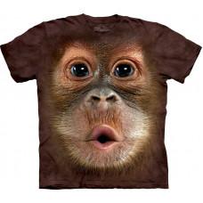 Футболка The Mountain - Big Face Baby Orangutan