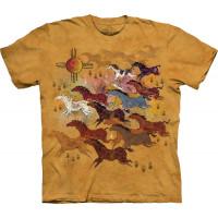 Футболка The Mountain - Horses And Sun