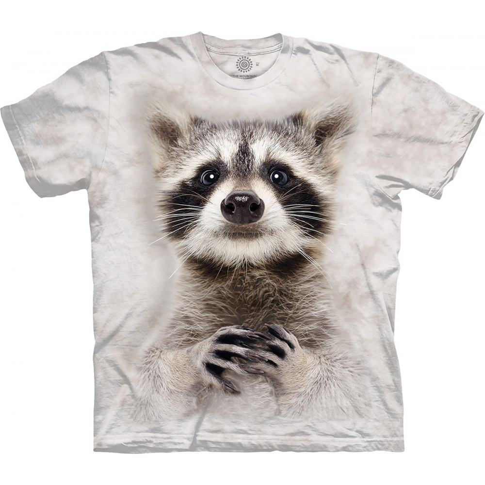 Футболка The Mountain - Curious Raccoon