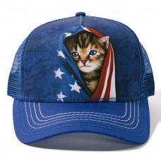 Кепка тракер The Mountain - Patriotic Kitten