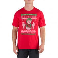 Футболка 5.11 Tactical Holiday Ugly T-Shirt, Range Red