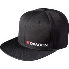 Кепка Dragon Hells Anglers Dragon flat front чорна