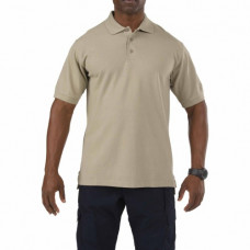 Футболка Поло  5.11 Tactical Professional Polo - Short Sleeve, Silver Tan
