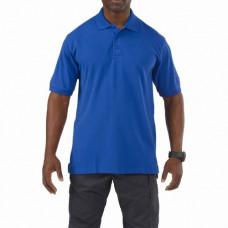 Футболка Поло  5.11 Tactical Professional Polo - Short Sleeve, Academy Blue