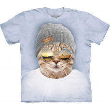 Футболка The Mountain - Cool Hipster Cat