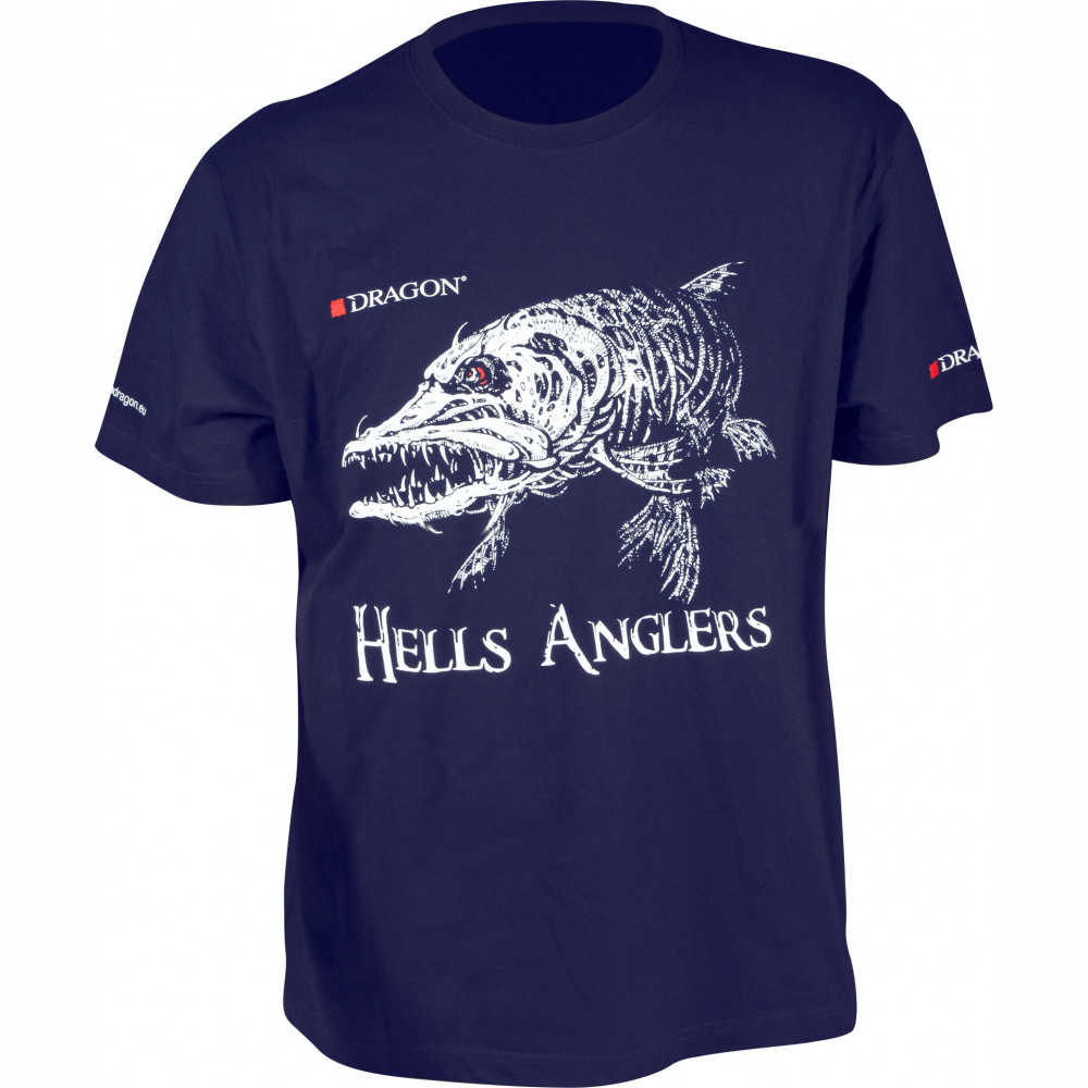 Футболка Dragon Hells Anglers ЩУКА