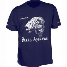 Футболка Dragon Hells Anglers КАРП