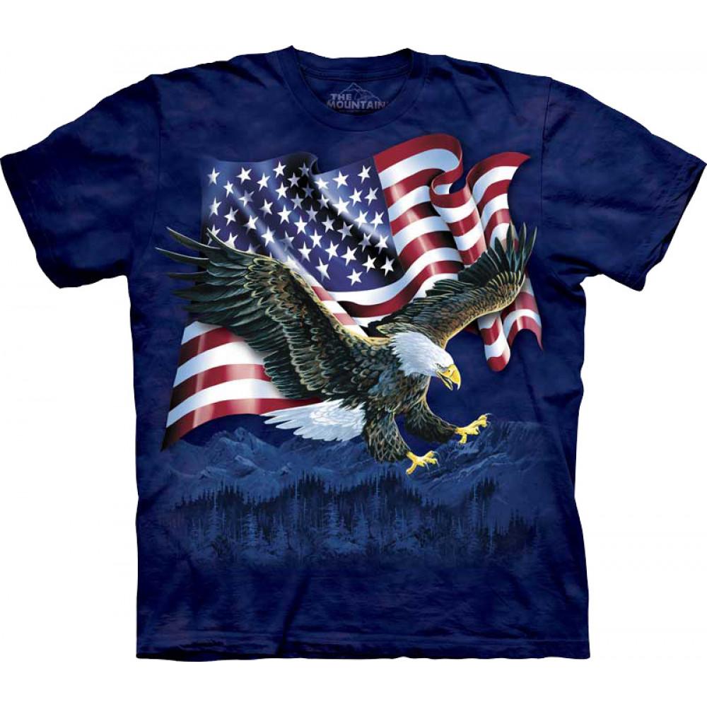 Футболка The Mountain - Eagle Talon Flag