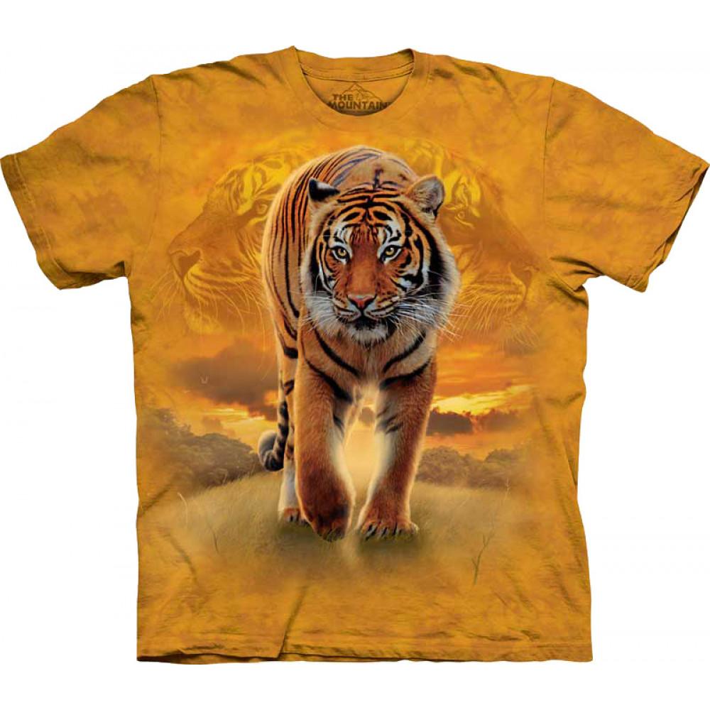 Футболка The Mountain -  Rising Sun Tiger