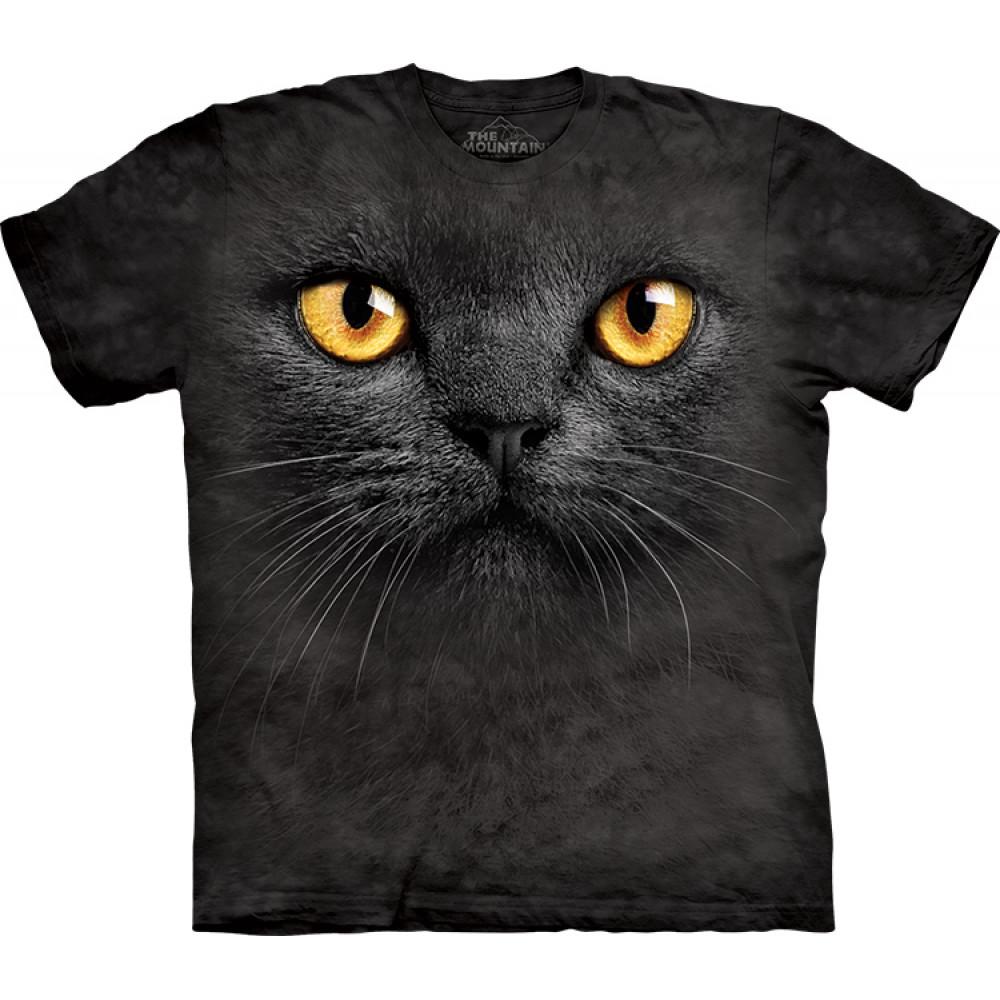Футболка The Mountain - Big Face Black Cat