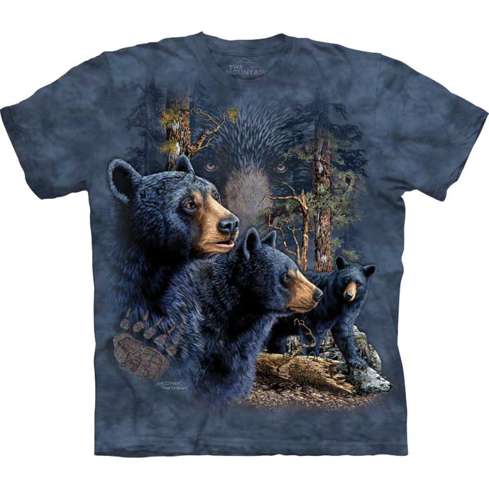 Футболка The Mountain -  Find 13 Black Bears