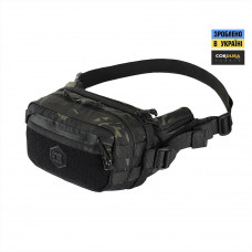 Сумка поясна  M-Tac City Chest Pack Gen.II Elite Hex Multicam Black/Black