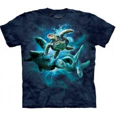 Футболка The Mountain - Sea Turtle Collage