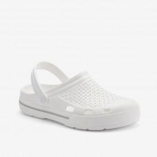 Клоги сабо COQUI LINDO White/White khaki grey