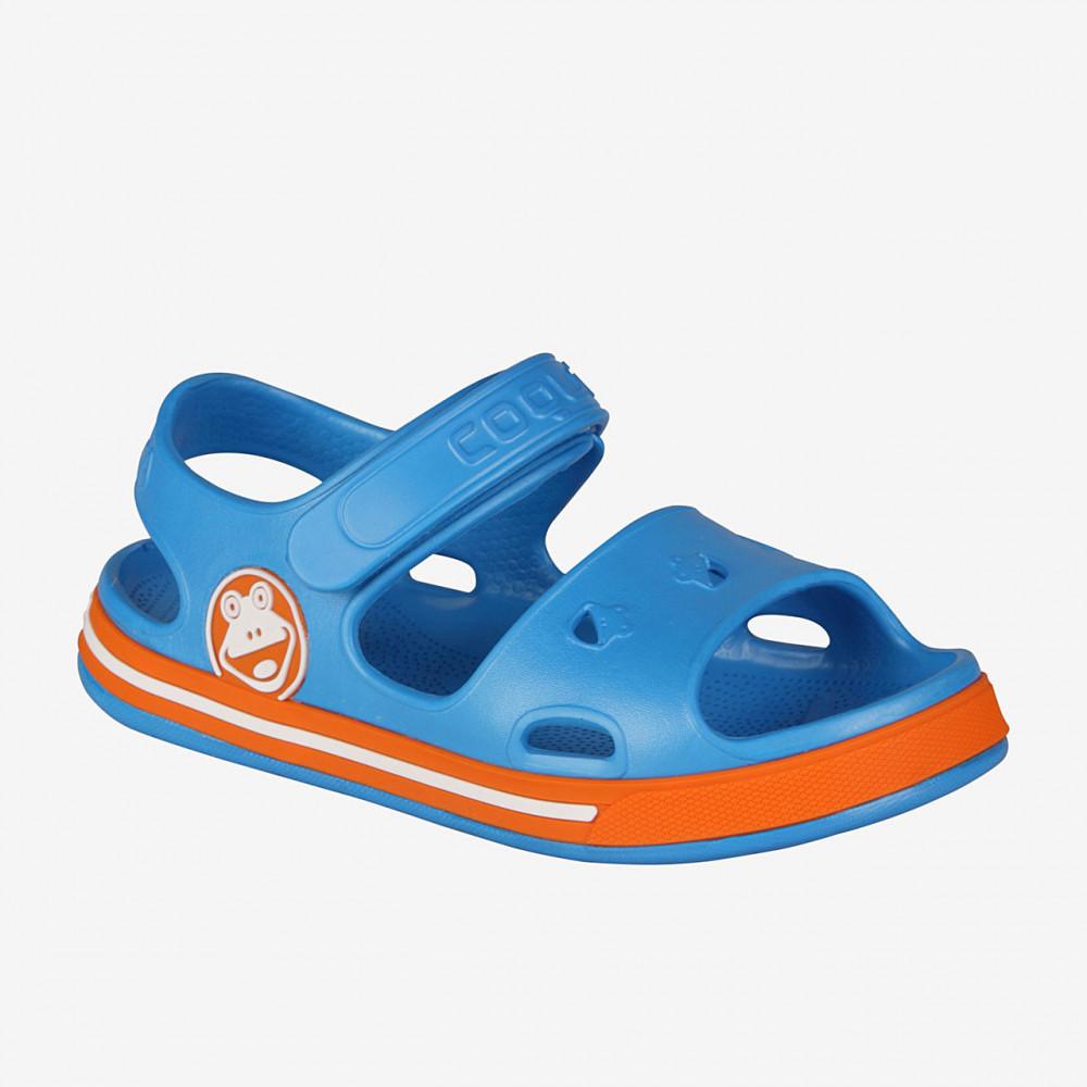 COQUI 8852 Sea blue/Dk. Orange
