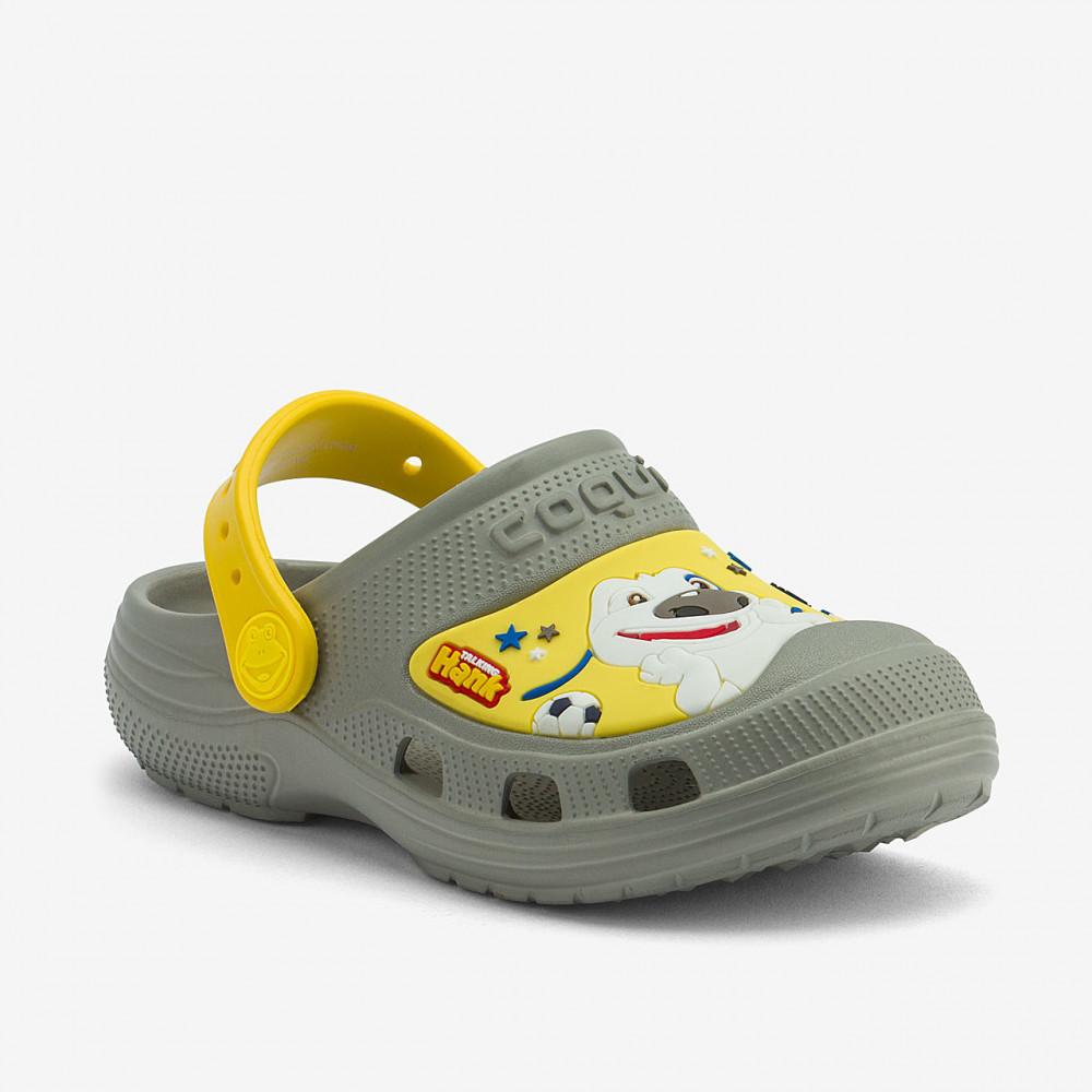 COQUI 9382 TT&F Mid. grey/Yellow
